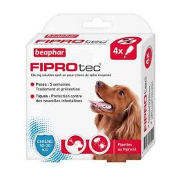 Beaphar Fiprotec Chien 10 - 20 kg 4 pipettes