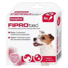 Beaphar Fiprotec Chien 2 - 10 kg 4 pipettes