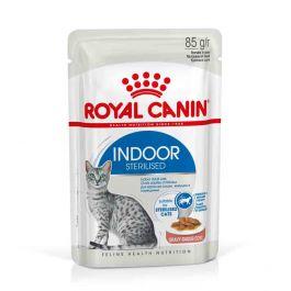 Royal Canin Feline Health Nutrition Indoor Sterilised sauce 12 x 85 g