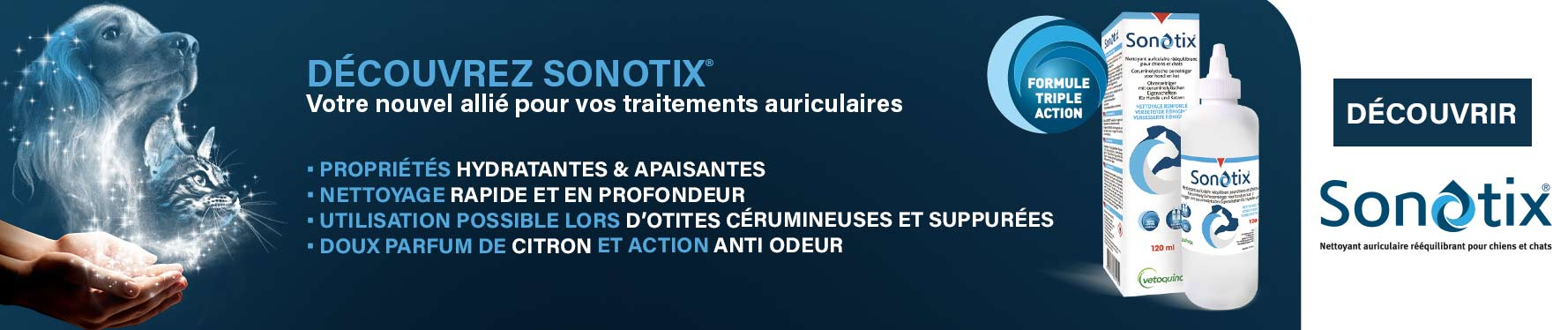 Découvrez la lotion auriculaire Sonotix